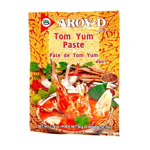 Паста Том Ям AROY-D, кисло-сладкая, 50гр.