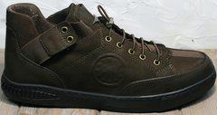 Туфли кроссовки для повседневной носки мужские Luciano Bellini 71748 Brown