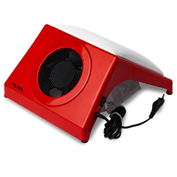 Настольная вытяжка для маникюра MAX Storm 4 Красный (32Вт max), с подушкой WHITE фото