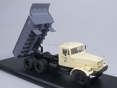 KRAZ-256B1 Tipper beige-gray 1:43 Start Scale Models (SSM)