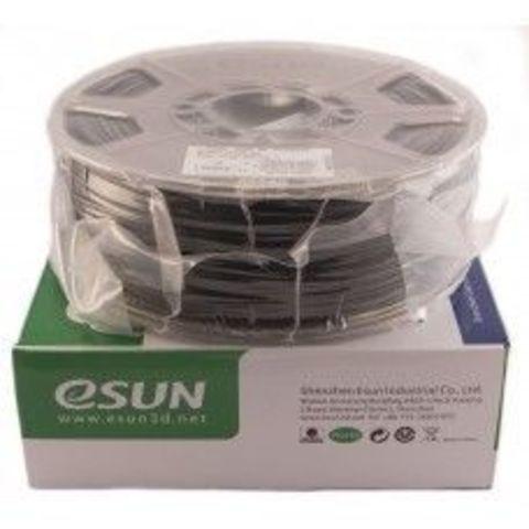 Пластик HIPS Esun Black / черный 1.75 мм 1 кг. (HIPS175B1)