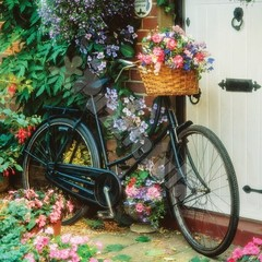 Pazl Bicycle & Flowers 500 parça