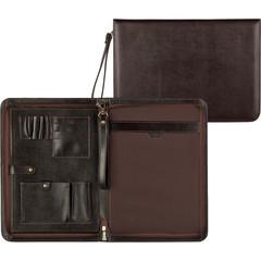 Папка деловая Grand из натуральной кожи коричневого цвета 01-118-0723