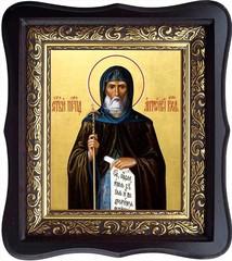 Антоний Великий преподобный. Икона на холсте.