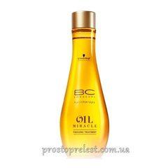 Schwarzkopf BC Oil Miracle Finishing Treatment - Масло для нормальных и жестких волос