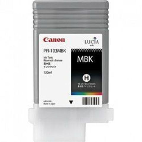Картридж Canon PFI-103MBK matte black (матовый черный) для imagePROGRAF 5100/6100/6200