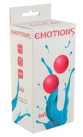 Тяжелые вагинальные шарики без сцепки Emotions Lexy Large pink (3 см; 150 гр)