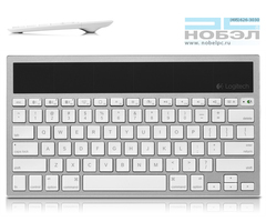 Клавиатура Logitech Bluetooth Wireless Solar Keyboard K760 for Mac - Silver