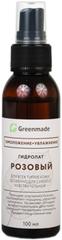 Гидролат Розовый, 100 мл (Greenmade)