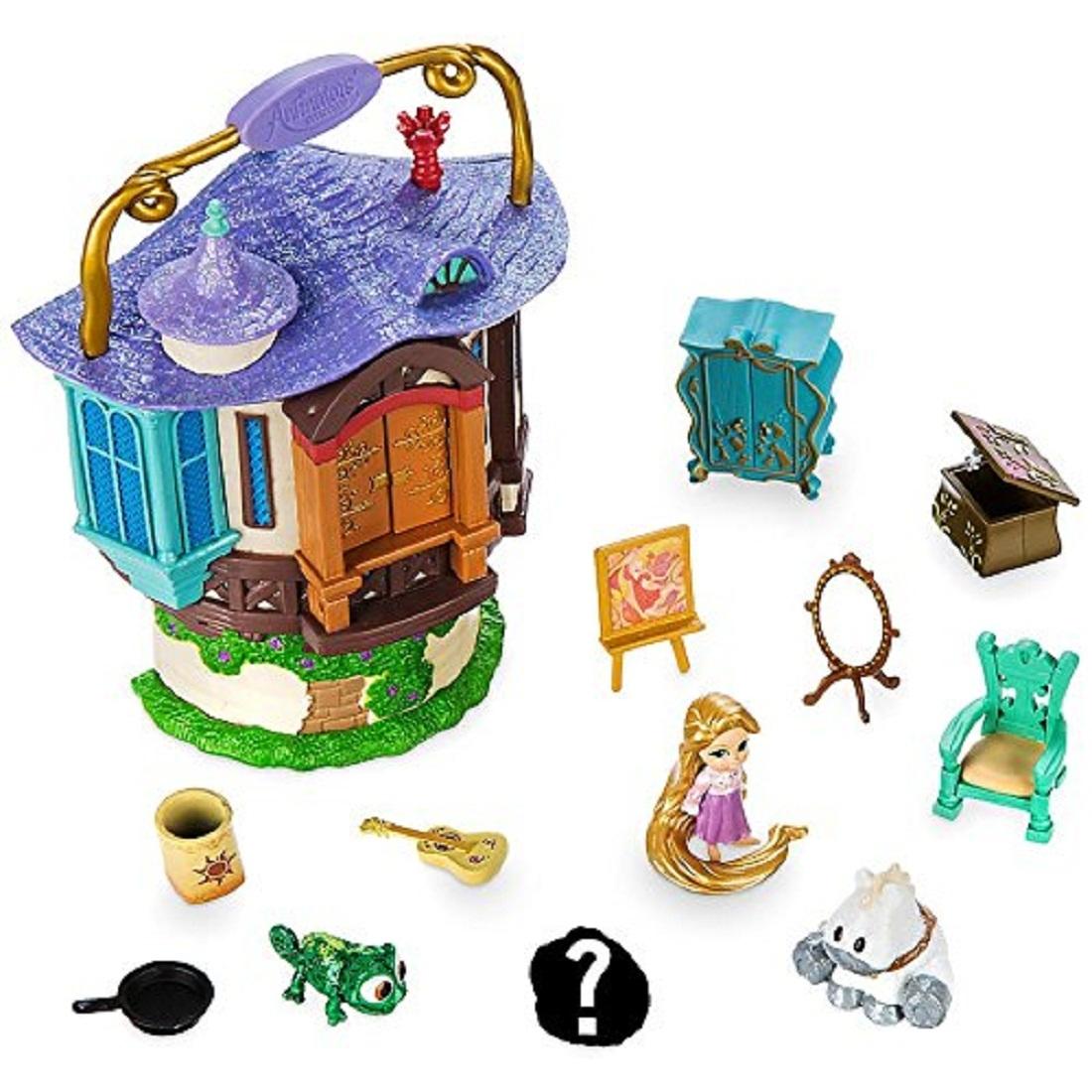 Disney Animators Collection Rapunzel Mini Doll Play Set 5 Inch