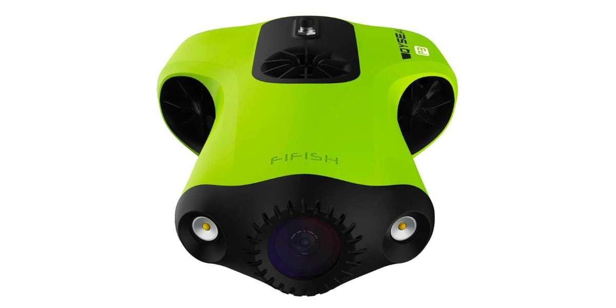 Подводный дрон FIFISH P3 вид сверху