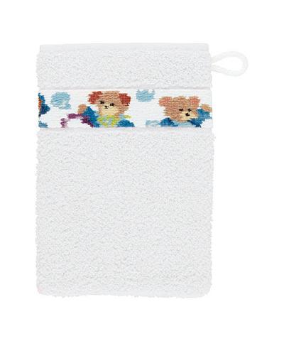 Рукавица для купания детская Svenni белая от Feiler