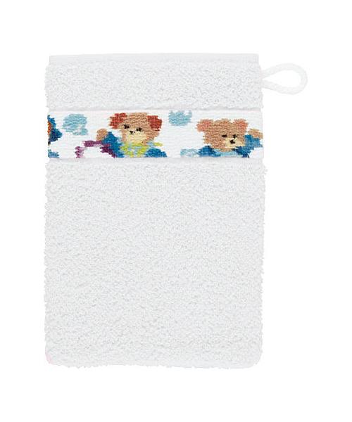 Для ванной Рукавица для купания детская 15x20 Feiler Svenni белая rukavitsa-dlya-kupaniya-detskaya-svenni-belaya-ot-feiler-germaniya.jpg