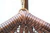 Плетеные качели KVIMOL KM 0001 большая корзина DARK