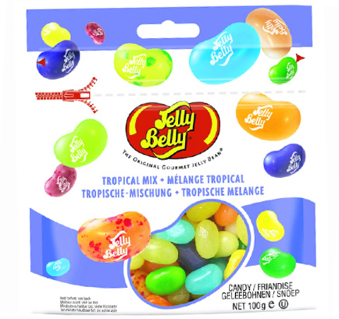 Конфеты Jelly Belly «Тропическое Микс» (100 гр.)