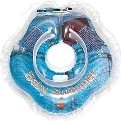 Baby-Krug. Детский круг для купания на шею, 0-24 мес джинс