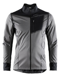Элитная лыжная куртка Craft Elite Pace XC Silver мужская