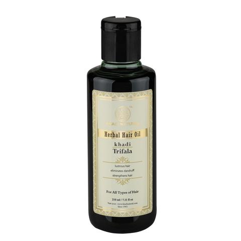 """""""Трифала"""" (смесь амлы, харитаки и бибхитаки) укрепляющее масло для волос, 210 мл"""
