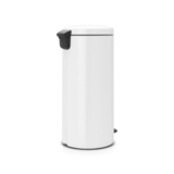Мусорный бак newicon (30 л), Белый, арт. 111785 - превью 3