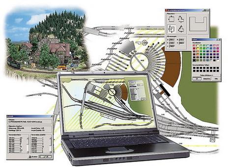 Busch 2810 Rail для Windows. Рисуем планы путей