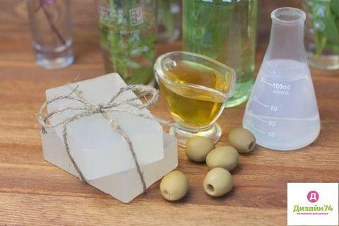 Мыльная основа ACTIV OLV (прозрачная, на основе масла Оливы), 1 кг.