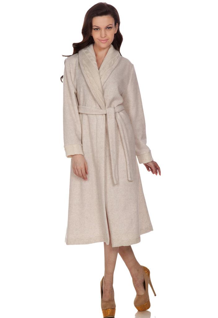 Теплый женский халат B&B