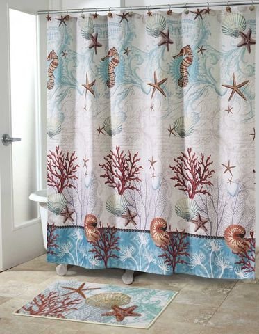 Элитная шторка для ванной Avanti Barbados
