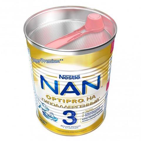 NAN® 3 OPTIPRO®   Гипоаллергенный  с 12 месяцев 400гр