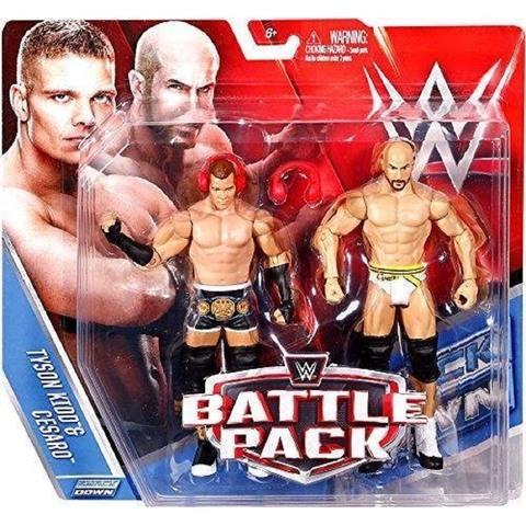 Набор фигурок рестлеров: Тайсон Кид и Сезаро. Бойцы WWE