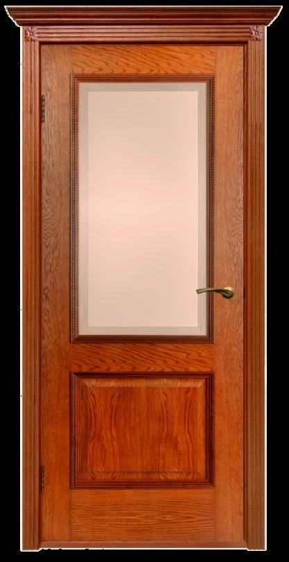 Гранд, ПО, Орех, Дверь межкомнатная, ДБ