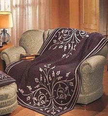 Плед 130х170 Manifattura Lombarda Ginerva серый