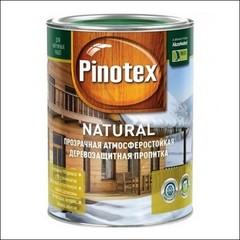Покрытие деревозащитное Pinotex NATURAL (Древесный желтый)