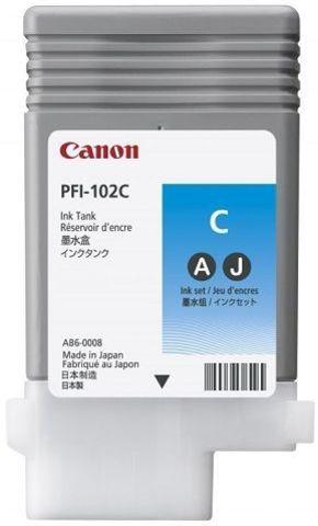 Картридж Canon PFI-104C голубой (0896B002)