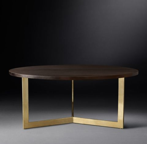 Linear Round Dining Table