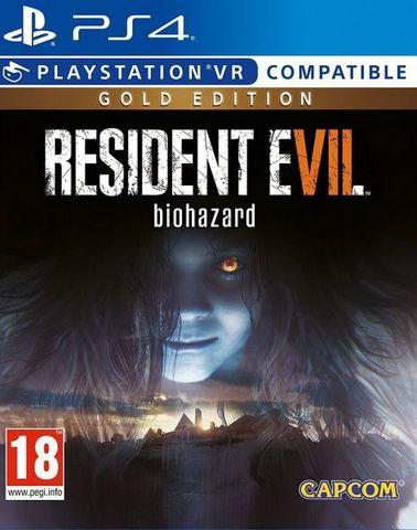 PS4 Resident Evil 7: Biohazard - Gold Edition (поддержка VR, русские субтитры)