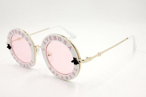 Солнцезащитные очки 9089003s Белый - фото