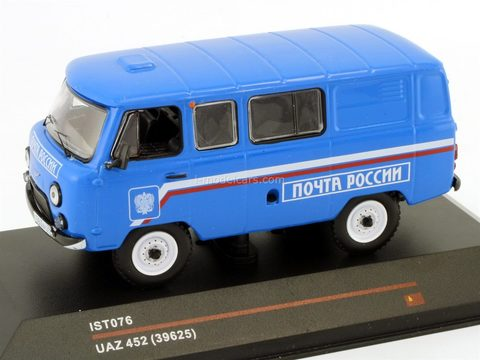 UAZ-452 39625 Russian Mail 2005 IST076 IST Models 1:43 used