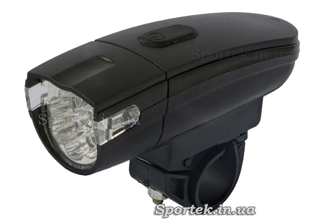Передний трехрежимный велосипедный фонарь (KK-800)