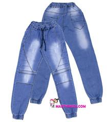 1422 джинсы джоггеры строчки