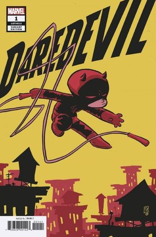 Daredevil #1 (2019) (Variant Cover by Skottie Young)