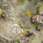 Бежевый жаккардовый шелк с золотым люрексом и розами