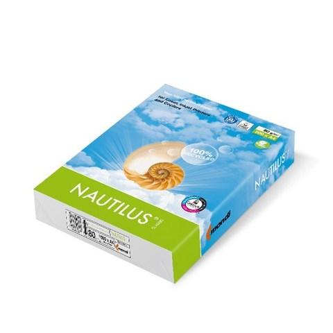 Бумага офисная NAUTILUS Recycled, 100 листов