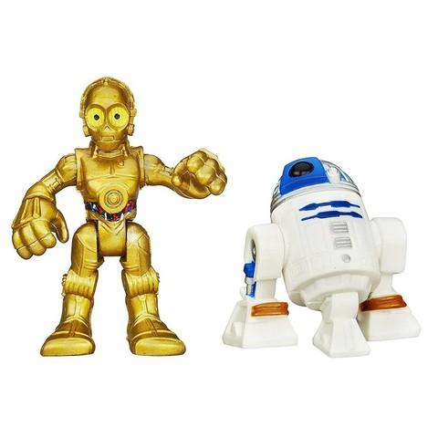 R2-D2 and C-3P0 Playskool Heroes