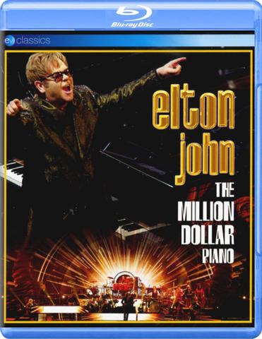 Elton John / The Million Dollar Piano (Blu-ray)