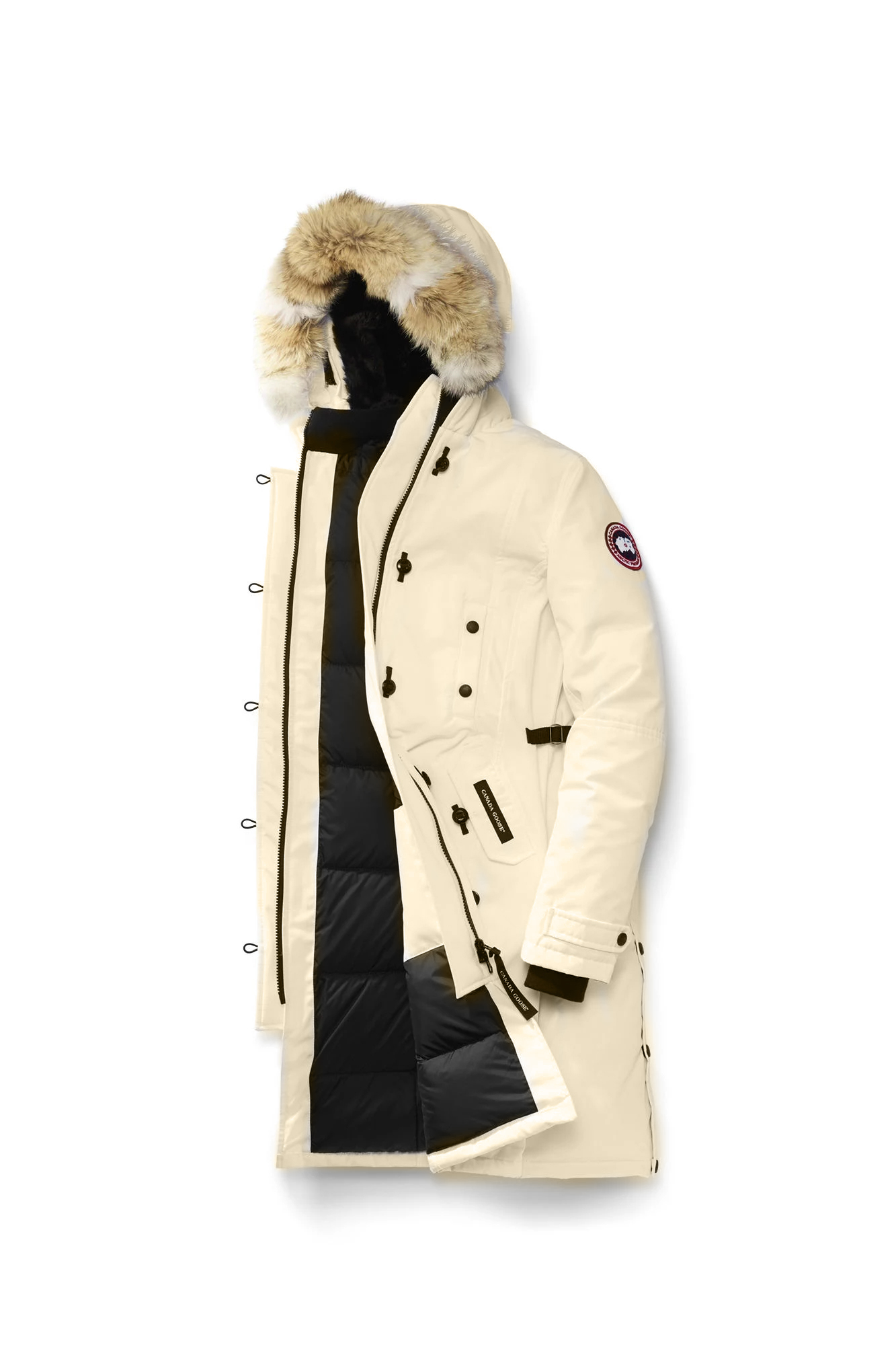 KENSINGTON PARKA CREAM 2509