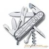 Нож перочинный Victorinox Climber 91мм 14 функций прозрачный серебро (1.3703.T7) нож перочинный victorinox swisschamp 1 6794 69 91мм 29 функций твердая древесина