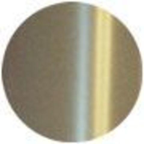 Фольга для ламинирования/фольгирования Crown Roll Leaf - одноцветная, №1 - серебро глянцевое. Рулон 210 мм х 30 м, (США).