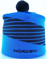 Лыжная шапка Nordski Line Light Blue