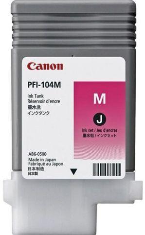 Картридж Canon PFI-104M пурпурный (3631B002)