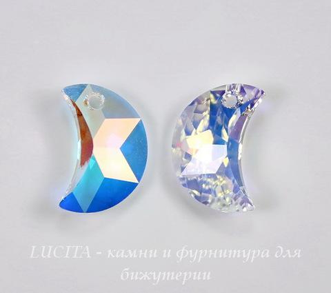 6722 Подвеска Сваровски Moon Crystal AB (левая) (20 мм)